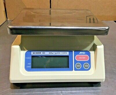 Ad And Sk-2000d Series Digital Scale Batter Operated