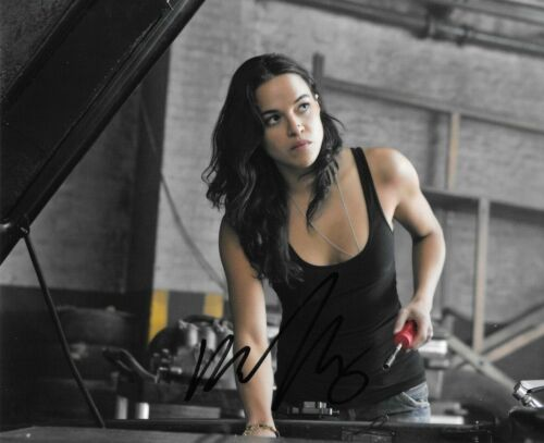 * MICHELLE RODRIGUEZ * signed autographed 8x10 photo * FAST & FURIOUS * COA * 2