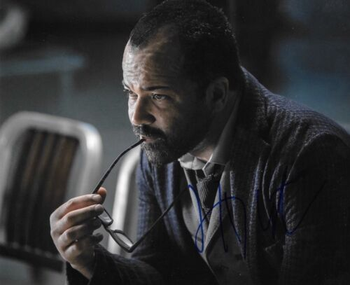 * JEFFREY WRIGHT * signed autographed 8x10 photo * WESTWORLD * 2