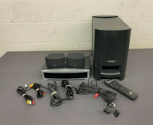 Bose AV3-2-1 II GSX Powered 2.1-Channel DVD Home Theater System COMPLETE GREAT