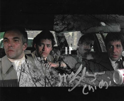 * ANGEL SALAZAR * signed 8x10 photo * SCARFACE * CHI-CHI * PROOF * 22