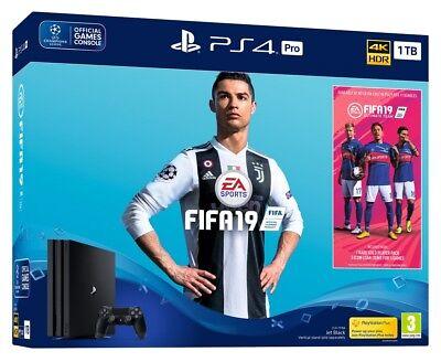 PS4 Pro 1TB Fifa 19 Console