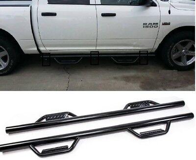 Fit 09-18 Dodge Ram 1500/2500/3500 Crew Cab Nerf Bar Hoop Dropped Side Step