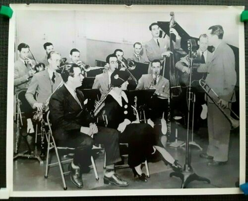 Tommy Dorsey Orchestra NBC Radio Duncan Schiedt Photograph JAZZ SWING