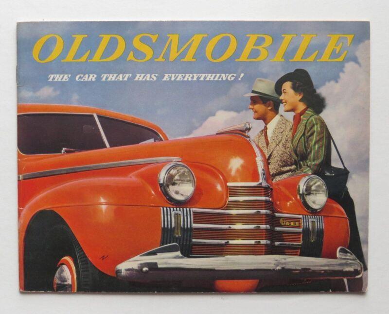 1939 Oldsmobile Brochure Series 60 70 90