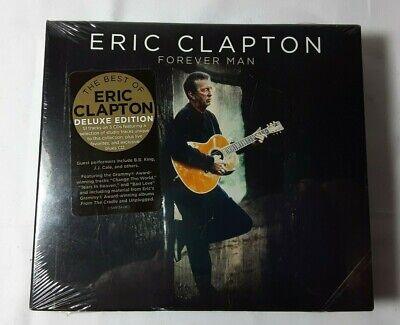 Sealed Best of ERIC CLAPTON Forever Man Deluxe Ed 3 CD New Studio Live (Best Live Blues Albums)