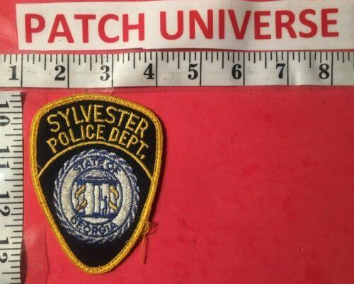 SYLVESTER  GEORGIA  POLICE  SHOULDER PATCH  H017