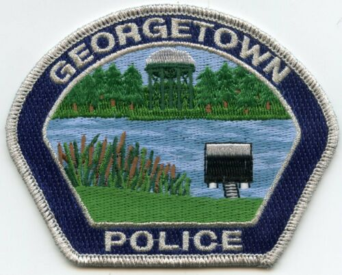 GEORGETOWN LOUISIANA POLICE PATCH