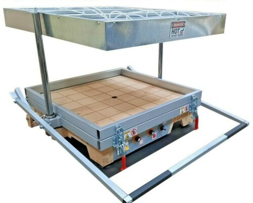 """Vacuum former 18""""x24"""" (460x610mm),Thermoforming Machine, Vacuum forming machine"""