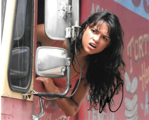 * MICHELLE RODRIGUEZ * signed autographed 8x10 photo * FAST & FURIOUS * COA * 1