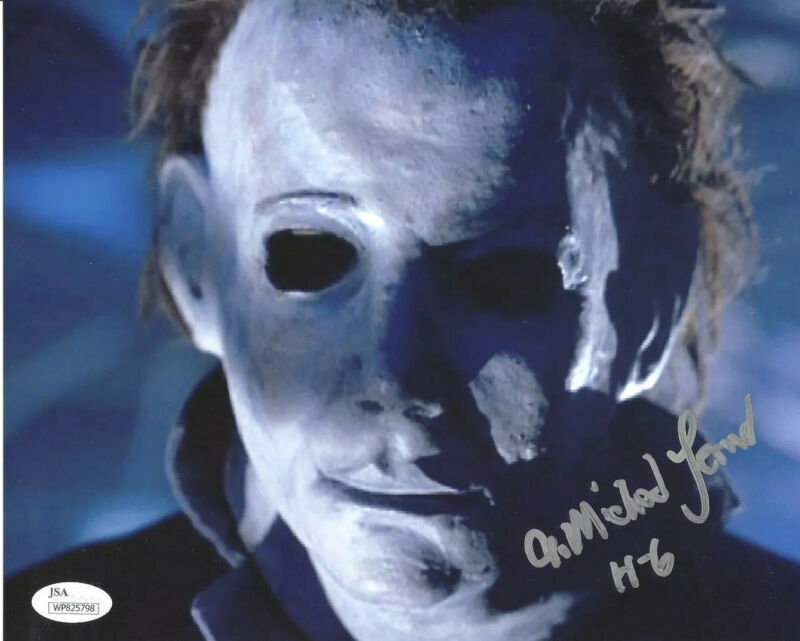A MICHAEL LERNER signed 8x10 Photo The Curse of Michael Myers HALLOWEEN 6 JSA