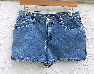 Lei Life Energy Intelligence Jean Shorts Size 11 Blue Denim