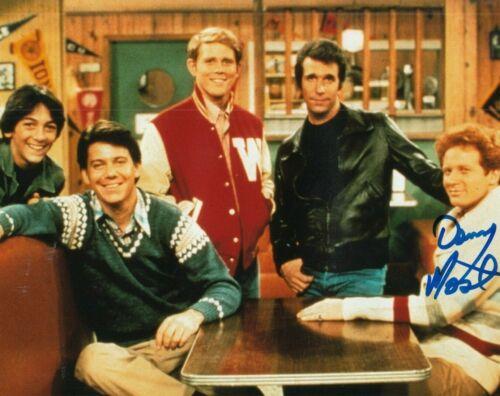 DON MOST signed (HAPPY DAYS) TV SHOW Star *Ralph Malph* 8X10 photo W/COA #3