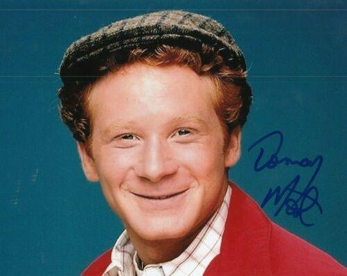 DON MOST signed (HAPPY DAYS) TV SHOW Star *Ralph Malph* 8X10 photo W/COA #4