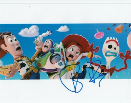 TONY HALE signed (TOY STORY 4) Movie autographed 8x10 photo *FORKY* W/COA #TH4