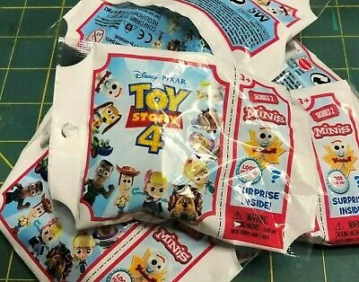Disney Toy Story 4 - MINI'S - Series 2 - Sealed Bag Complete Set of 12 - NEW