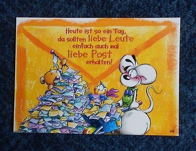 Diddl Postkarte Nr.63 g Rarität  super selten --Top Zustand - aus Sammlung