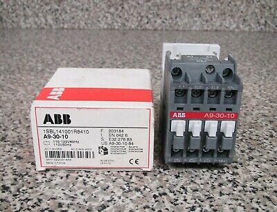 New ABB A9-30-10-84 1SBL141001R8410 110-120V 25A 400V Contactor Free Shipping