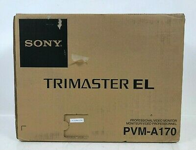 NEW Sony Trimaster EL PVM-A170 Professional OLED Video Monitor