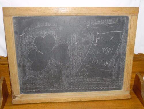 Country Primitive School House Schoolhouse Slate Wall Chalk Board Chalkboard
