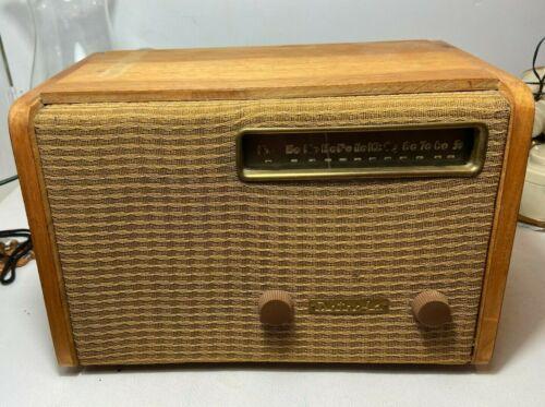 vtg Alexander Girard Detrola tube Radio 1946 Tested and working Model 571 Maple