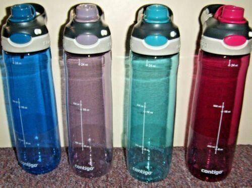 Contigo Ashland AutoSpout chug Water Bottle 24 oz 720ml  Leak-Proof 4 colors