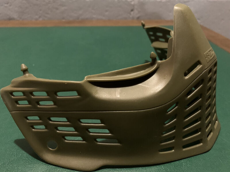 JT Proshield Olive Green Bottom Paintball Goggle Mask Proflex