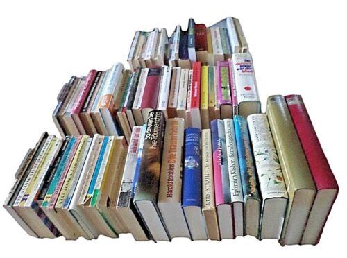 77 Bücher Belletristik (5) alle um die 1960er gebundene Ausgaben + Taschenbücher