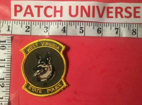 WEST VIRGINIA STATE  POLICE K-9  SHOULDER PATCH  S053