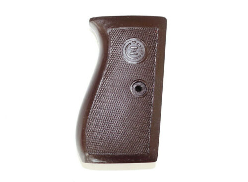 CZECH ARMY AND POLICE REPRO CZ 27 CZ27 grips 32acp 7.65mm brown
