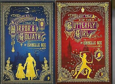 ISHBELLE BEE - The Peculiar Adventures of John Loveheart books 1 and 2 2x P/B
