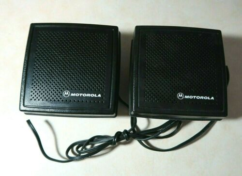 Lot of 2 Motorola HSN4032A Mobile Radio Speaker MCS2000 XTL5000 Spectra Maxtrac