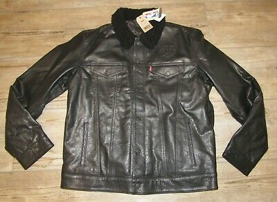 Levi's Chicago Bulls Buffalo Leather Dress Coat Jacket - Chicago Bulls Dress