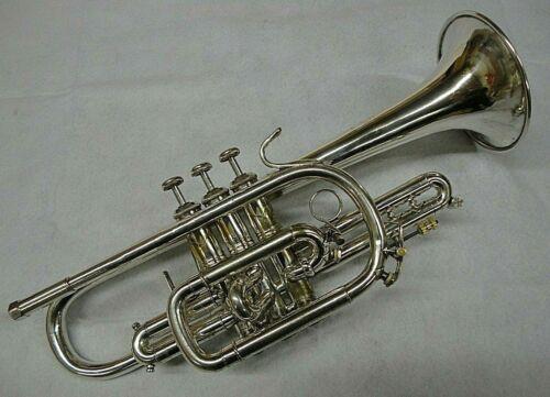 Bach Stradivarius Model 25 L Bore Cornet - Professionally Cleaned/Serviced