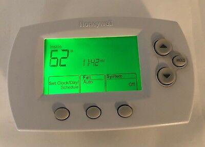 Honeywell Control Panel (Honeywell Thermostat Wall Mount Control Panel Model TH6110D1021 Working 5.5x3.5)