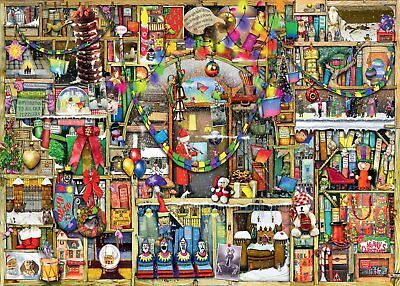 Puzzle Ravensburger 1000 Teile - Colin Thompson: The Christmas Cu... (53874)