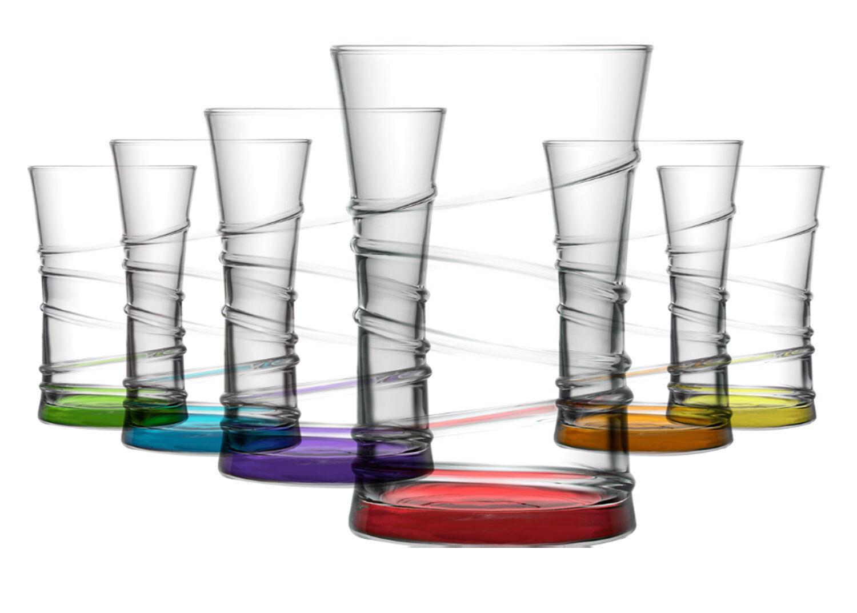 LAV 6 teiliges Wassergläser Saftgläser Trinkgläser Getränkegläser Serie