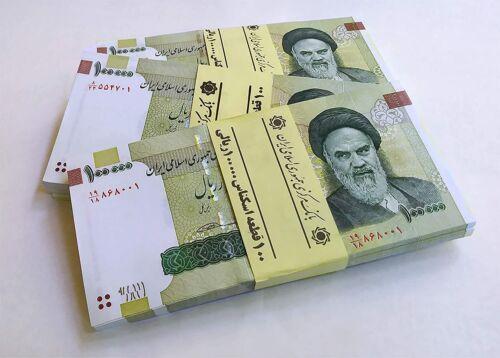 10 x 100000 RlALS RlAL total 1 million IRR UNC excellent