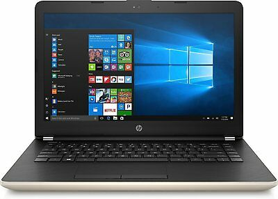 "Laptop Windows - HP 14-bs043na 14"" Laptop 500GB HDD 4GB RAM Intel Celeron Windows 10 - Silver A"