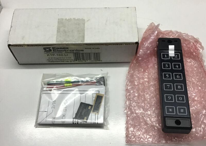 Essex Electronics KTP-102-LI Black Keypad          T16
