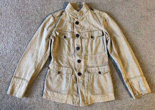 VTG 1910s WWI U.S. Army Military Summer Uniform Field Jacket
