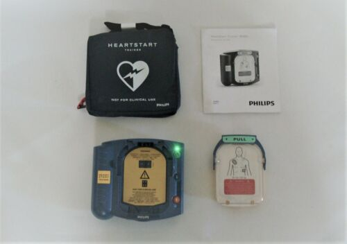 New Philips Medical Systems Heart-Start AED HS1 Trainer M5085A-ABA