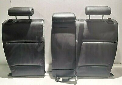 BMW 3 SERIES E46 COUPE REAR  SEAT BACK REST  BLACK LEATHER