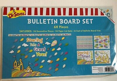 1 Dr. Seuss Bulletin Board set Soaring into a great year classroom decor teacher - Decorate A Classroom