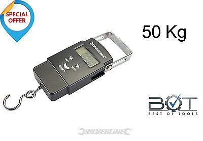 Digitale Gepäckwaage Kofferwaage Fischwaage Hängewaage Paketwaage 50KG
