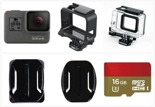 Refurbished GoPro HERO 5 Black Waterproof Action 4K Ultra HD Camera SD card Kit