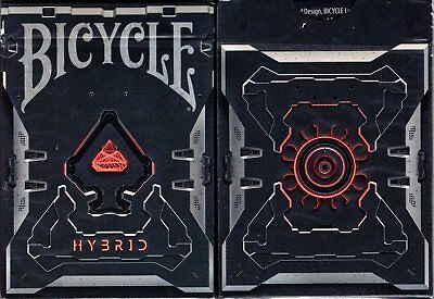 hybrid bicycle playing cards poker size deck