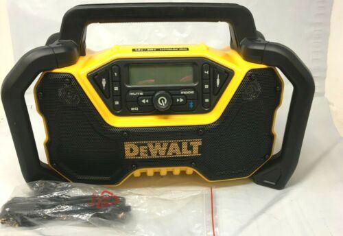 DEWALT DCR028B 12V/20V MAX Bluetooth Cordless Jobsite Radio Tool Only - New!!