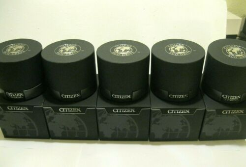 5)CITIZEN Watch Boxes Black & grey With Cover Box BRAND.NEW!