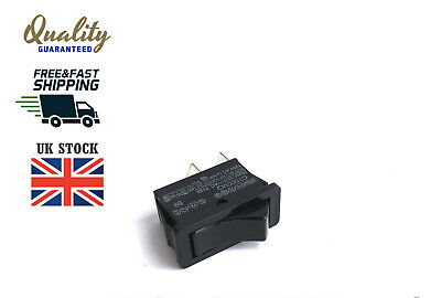Panel Off-On Black 5x  C1500VQASG Rocker Switch SPST Non Illuminated 20 A